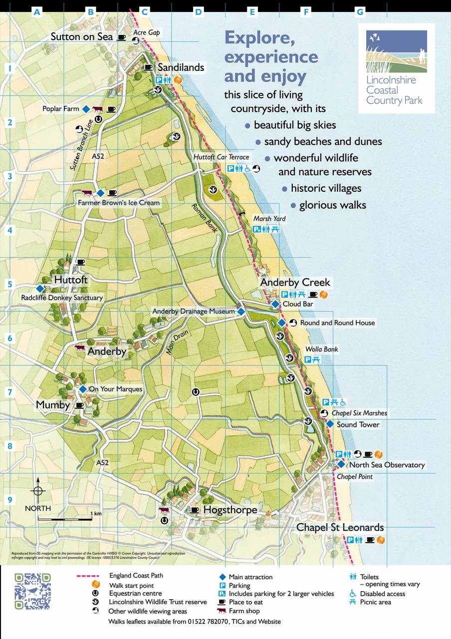 Coastal Country Park map