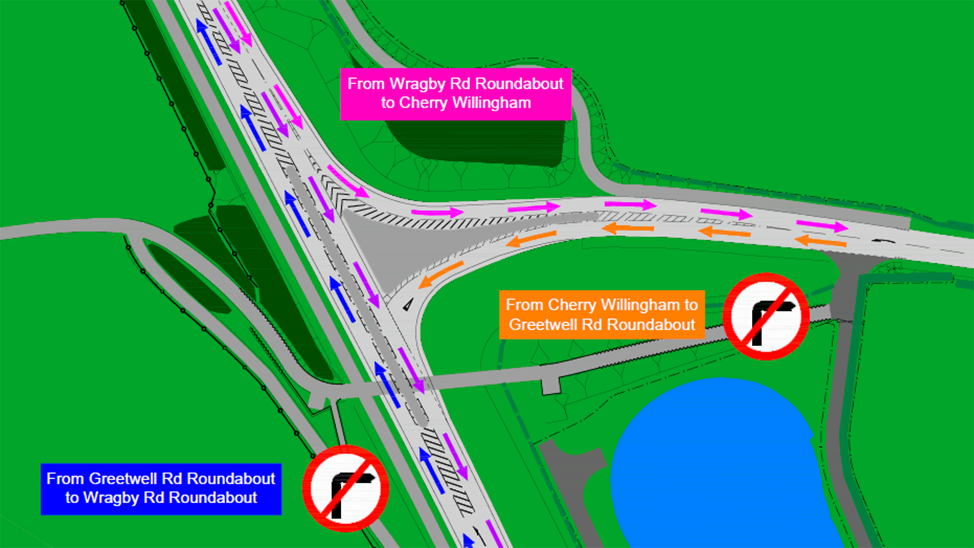 Hawthorn Rd - New Junction Layout - main image