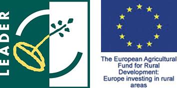 LEADER and European Agricultural Fund logos